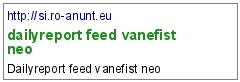 dailyreport feed vanefist neo